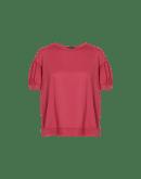 MIMOSA: Gathered sleeve t-shirt
