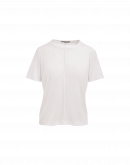 ACCEPT: White t-shirt with short sleeves