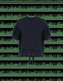 TACTIC: Navy gathered sleeve t-shirt