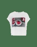 DEPICTION: T-Shirt aus Baumwolle mit Druck<br /><br />• ArtistsAtHIGH