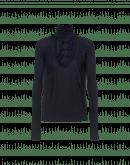 DIGNITY: Top a collo alto blu con pettorina