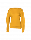 MOMENTARY: Long sleeve t-shirt saffron cotton jersey