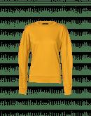 MOMENTARY: T-shirt a maniche lunghe in jersey di cotone zafferano