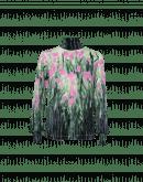 JAUNT: T-shirt a manica lunga in jersey di lana e nylon