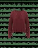 JEALOUSY: Maglia in jersey e cupro con cordino arricciabile