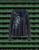 CHARM: Maglia in jersey con costruzione a spirale