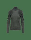 MODEST: Maglia in jersey con inserti frontali