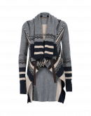 PERPETUAL: Shawl collar cardigan