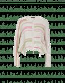 EVALUATE: Cardigan in cotone con intrecci multipli