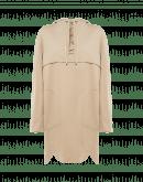 PURPOSEFUL: Tunica con cappuccio e lacci sul davanti