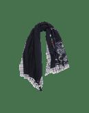 CONUNDRUM: Sciarpa a doppio strato con stampa floreale