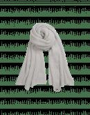 FROSTY: Sciarpa in misto lana grigio chiaro
