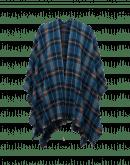 SHUDDER: Scialle-poncho scozzese