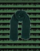 FROSTY: Sciarpa in misto lana verde muschio