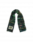 "TOPSPIN: Painted"" scarf in modal"