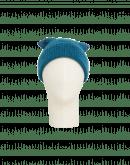 LIKELIHOOD: Berretta color ceruleo in misto lana con pompom
