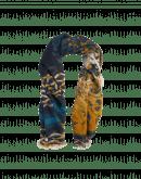 RESPLENDENT: Sciarpa stampata in modal misto cashmere