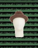 TILTED: Lobbia in feltro marrone