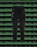 ENTRUST: Black joggers with tech flannel