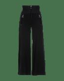 EQUITY: Pantaloni a vita alta con inserto in velluto