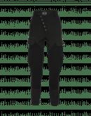 RIVALRY: Diagonal snap front pants