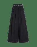 ASSURE: Pantaloni molto ampi con pieghe frontali