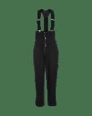 CLAMBER: Pantaloni neri a vita alta