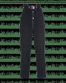 CLAMBER: Pantaloni blu navy a vita alta