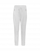 "ENTRUST: Pantaloni ""Jogger"" color avorio"