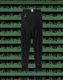 HASTEN: Pantalone fluido in twill tecnico nero