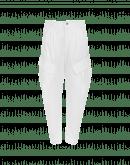 TRANSITION: Pantaloni affusolati con tasche a soffietto