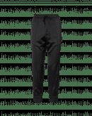 COHERE: Black tech satin joggers