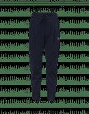 EAGER: Joggers blu navy con cuciture diagonali