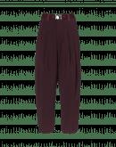 HASTEN: Pantaloni con pieghe in twill tecnico