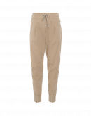EAGER: Joggers in twill tecnico beige