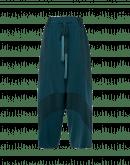 DIVERGE: Pantaloni in raso tecnico e cintura con nappine