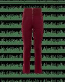 MINIMALIST: Pantalone in jersey porpora con motivo a rilievo
