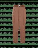 RATIONALE: Pantalone gamba dritta in twill elasticizzato écru