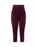 WILLING: Pantalone jogger in jersey tecnico bordeaux