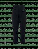 HYPER: Pantalone in twill elasticizzato nero