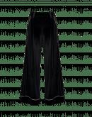 ASSERT: Pantaloni gamba larga in velluto tecnico nero