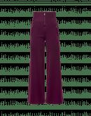 EQUITY: Pantalone a gamba larga con vita in costine