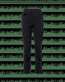 HI-LAY-OUT: Pantaloni multi-cucitura e multi-pannello in jersey nero e velluto elasticizzato