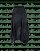 CONCEPT: Navy blue matt and shine satin and organza skirt