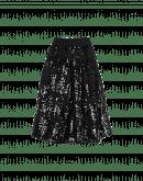 SOULFUL: Bell shape skirt in sequin mesh