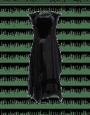 EMERGE: Velvet, net and jersey dress