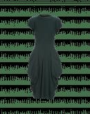 INITIATE: Forest green pannier pocket dress