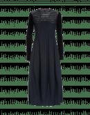 MESMERIZE: Navy Sensitive® dress with tech lace yoke
