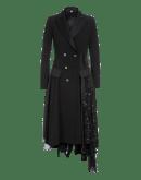 DRAMATIC: Abito nero in stile tuxedo