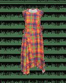 EMERGE: Abito con pannelli multipli in Sensitive® scozzese